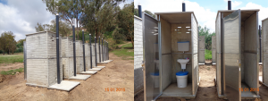 neue Toiletten für die Loretto Primary School