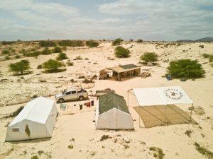 Ranger camp Strandkontrollen